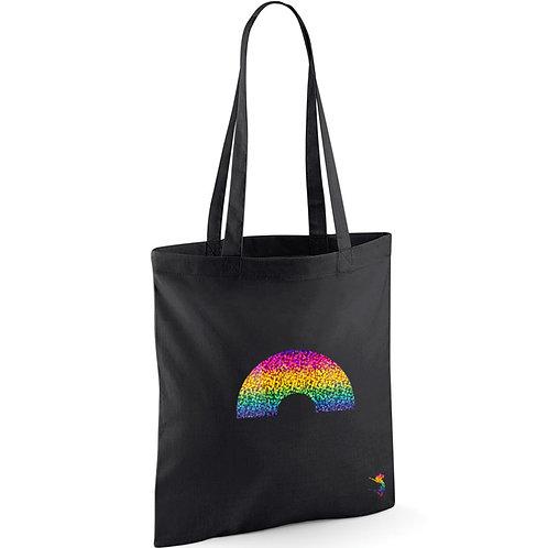 RAINBOW SPARKLE TOTE BAG