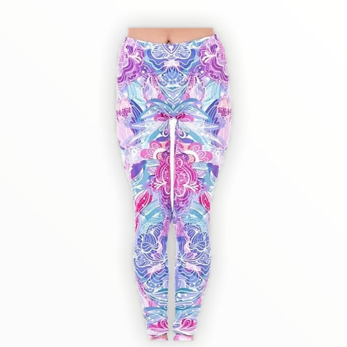 Exotic Flowers Superstretch Leggings