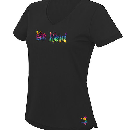 RAINBOW BE KIND WORKOUT TOP