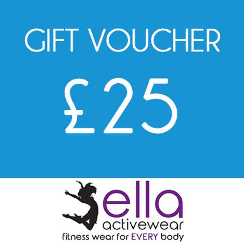 £25 Ella Activewear Gift Voucher