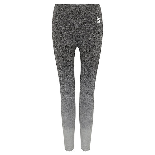 Grey Ombré Marl Seamless Leggings