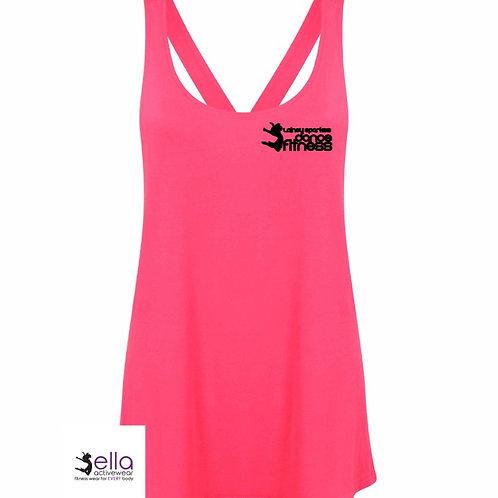 Neon Pink Logo Vest