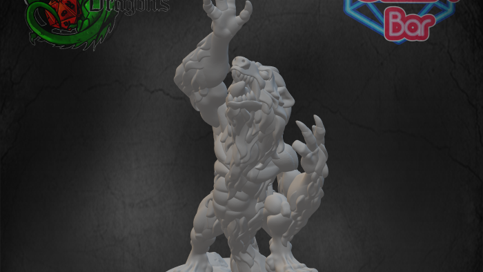 Wolf Man - Arms Raised