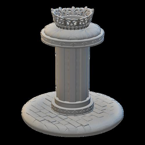 Crown on Pedestal