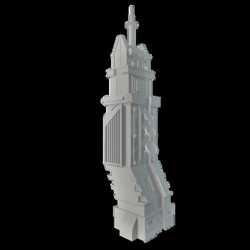 Sci-fi Communication Tower #01