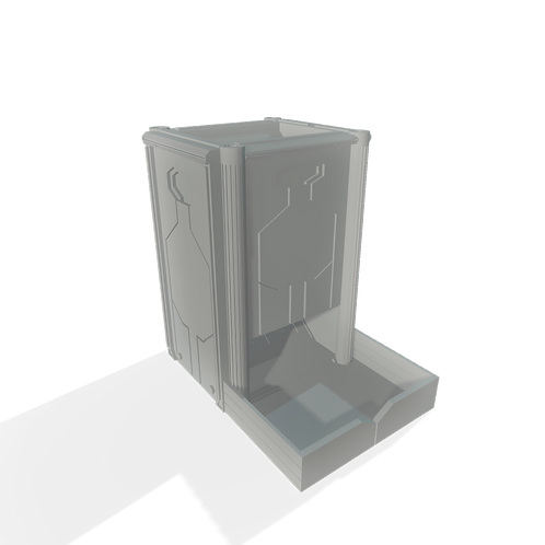 Sci-fi Dice Tower - DT01