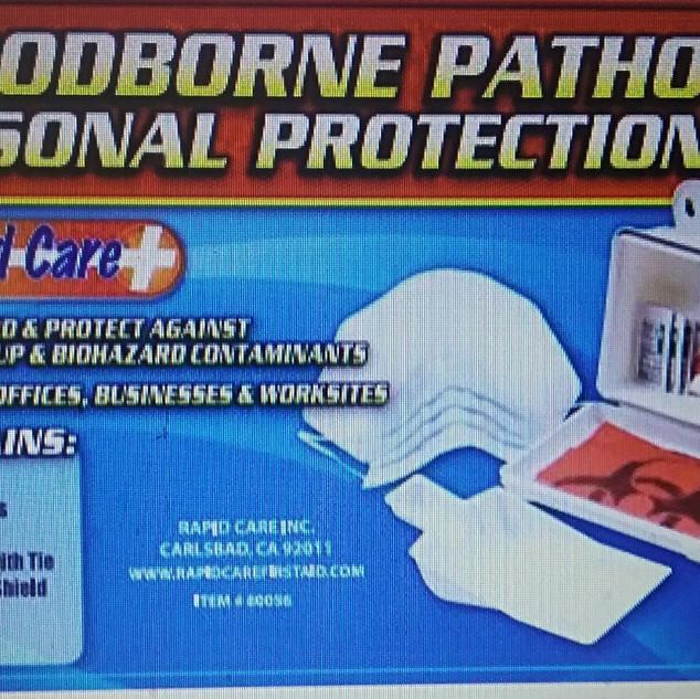 Bloodborne Pathogen Protection Kit