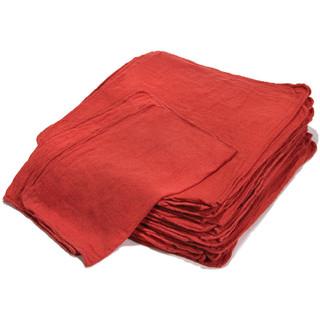 "14"" x 14"" Red Shop Towels"