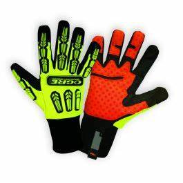 Ogre Leather Grip Palm Safety Glove
