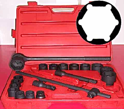 "21 pc ¾"" Dr. Impact Socket Set – Sae 1350"