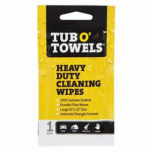 Individual Tub-O-Towel Wipe