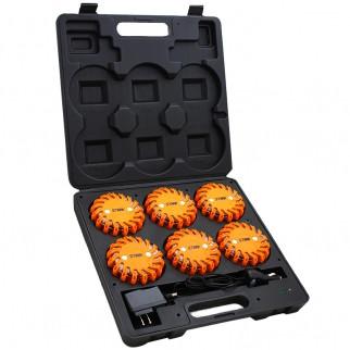 6 pc LED Flare Safety Kit