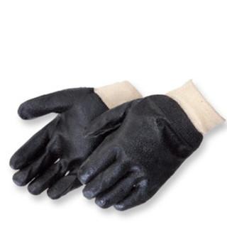 Knit Wrist PVC Gloves