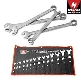 Hi-Polish Wrench Set 14 Pc. Standard or Metric