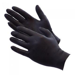 Black Nitrile Disp Gloves-