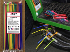 """11"""" Color Variety Pack Wire Ties - 100"""