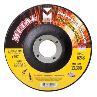 "Metal Pipe 4-1/2""x1/8""x7/8"" Grinding Disc"