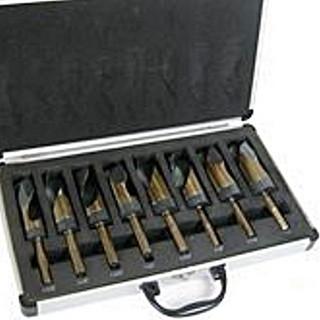 8Pc S&D Black & Gold Drill Bits