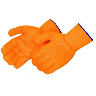 Orange Honeycomb Gloves – Dz
