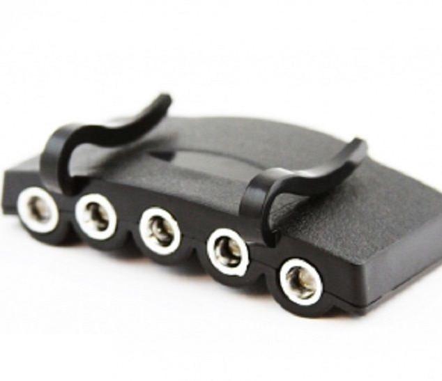5 LED Adjustable Clip-On Ball Cap Light 5014