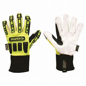 Ogre Corded Canvas Palm Safety Glove