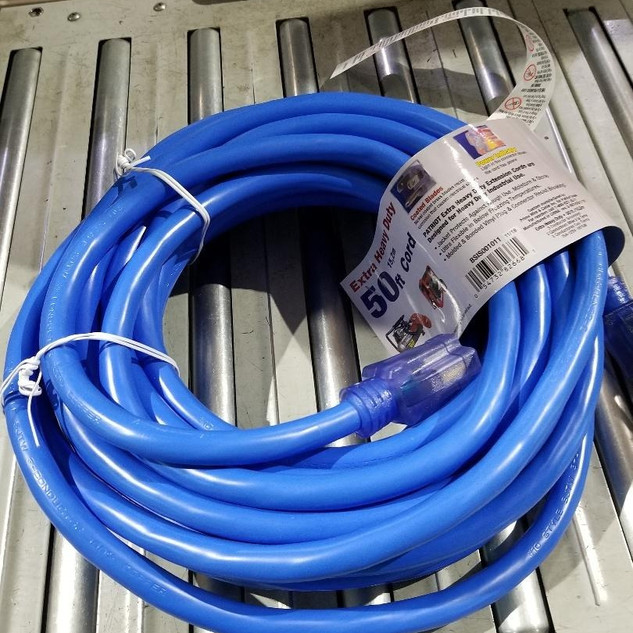 10/3 Style 50' Single Tap Contractors Cord
