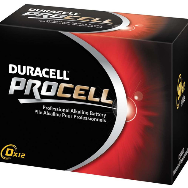 Duracell® ProCell D-Cell Battery - 12 pk