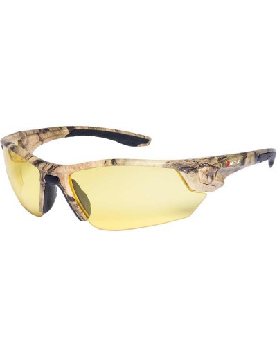 Camo Safety Glasses - Amber