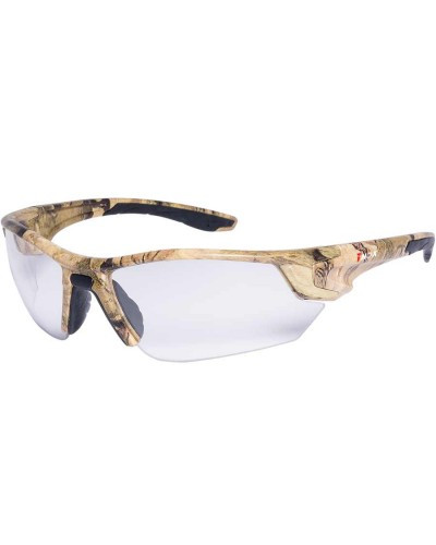 Camo Safety Glasses - Clear