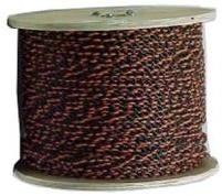 Black/Orange Poly Rope