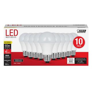60 Watt LED Lightbulb – 10pk  1915