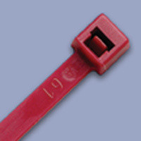 Burgundy Air Handling Cable Tie – 100 pk