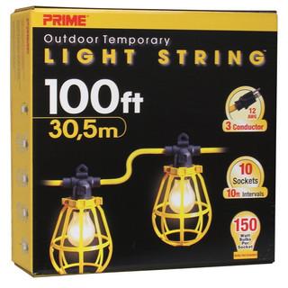 100' Contractors Light String 1009