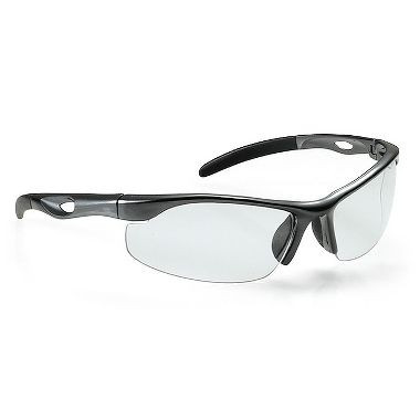 Clear Safety Glasses W/Lanyard