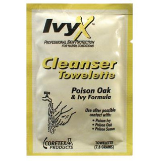 Ivy X Post-Contact Towelette - 25 pk
