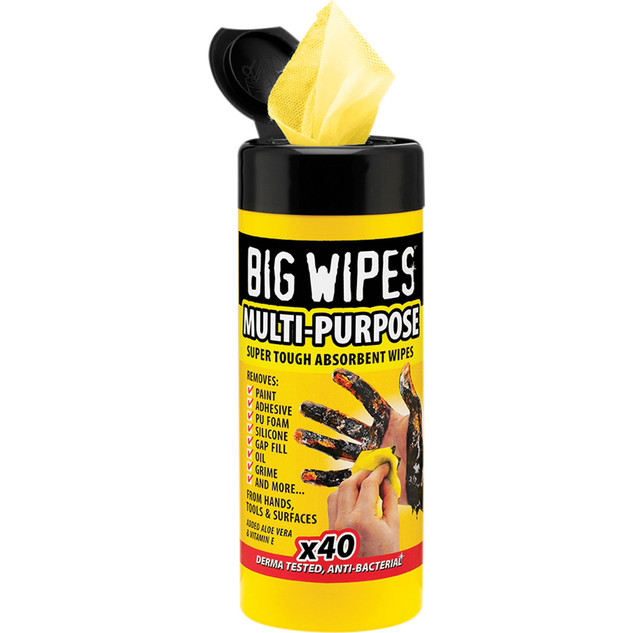 40 pk - Industrial Big Wipes