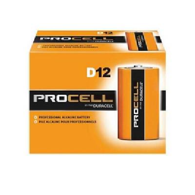 Duracell® ProCell D-Cell Battery - 12 pk