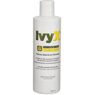 12 oz Bottle Ivy X Post Contact Cleanser