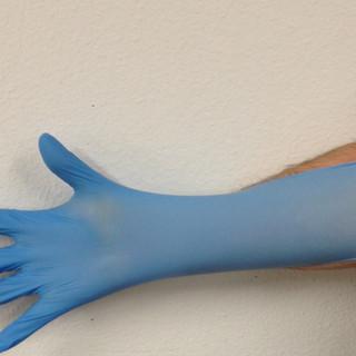 Blue Nitrile Disp. Gloves