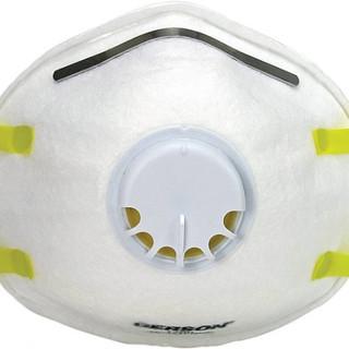 N95 Part. Respirator w/Valve – 10 pk