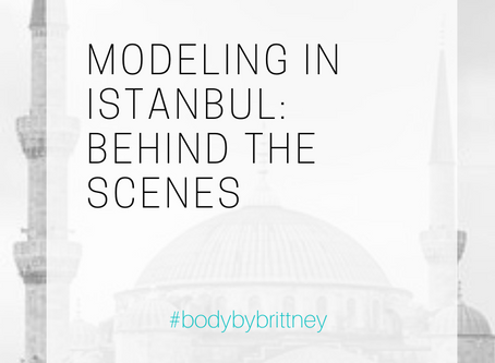 MODELING IN ISTANBUL: BEHIND THE SCENES A (STANDARD) DAY OF WORK