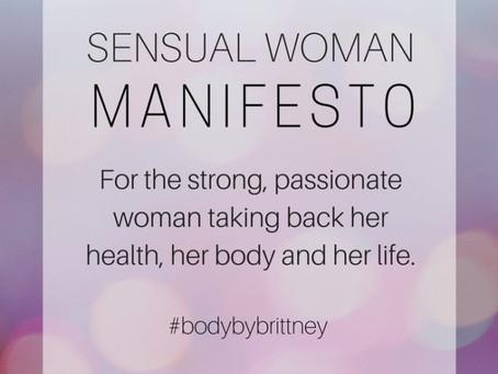 SENSUAL WOMAN MANIFESTO