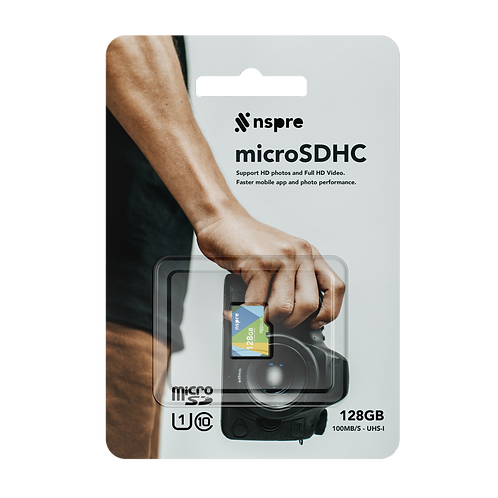 NSPRE™ MicroSDHC - 128GB