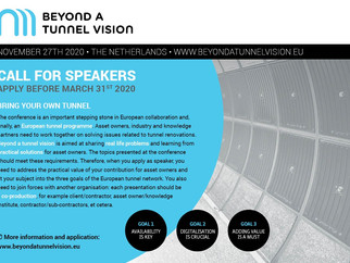 Beyond a tunnel vision 2.0 - CALL FOR SPEAKERS