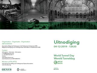 #worldtunnelday - 4 DECEMBER (@Denys - Gent/Gand) – INVITATION