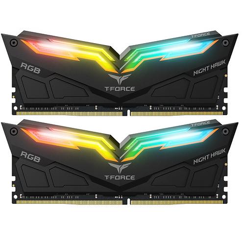 T-Force Night Hawk RGB DDR4 3000mhz 8gb x 2