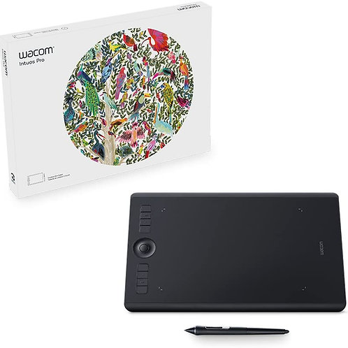 Wacom Intuos Pro Digital Graphic Drawing Tablet for Mac or PC Medium