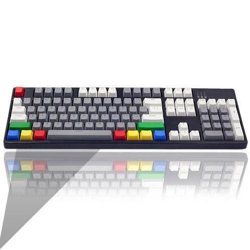 104 Keys Retro PBT Transparent keycaps