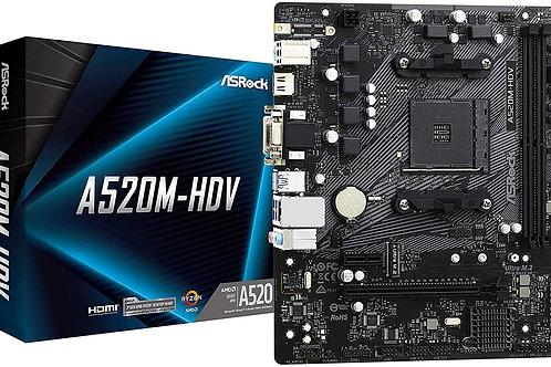 Asrock A520M HDV Motherboard