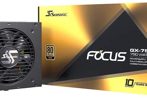 Seasonic Focus GX 750w 80+ Gold 10 Years Warranty